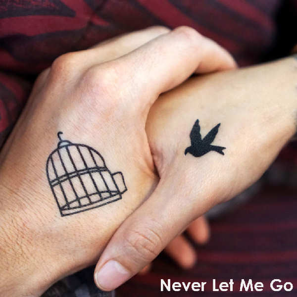 """Artwork of """"Never Let Me Go"""": This balad is a smooth sounding electro - pop piece. A technological intro precedes a glamorous female vocal guiding the listener into an hypnotic chart hit. Catchy hooks and ear candy sparkle this pulsating track!"""